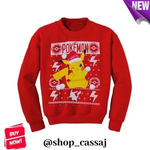 Pokémon Christmas Sweatshirt